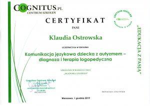 Certyfikaty logostra 7