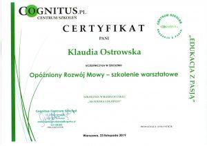 Certyfikaty logostra 3