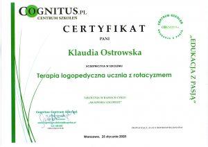 Certyfikaty logostra 2