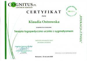 Certyfikaty logostra