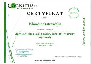 Certyfikaty logostra 1